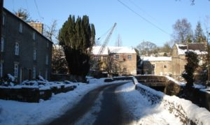 Kirk Mill and the Grove, 8th January 2010