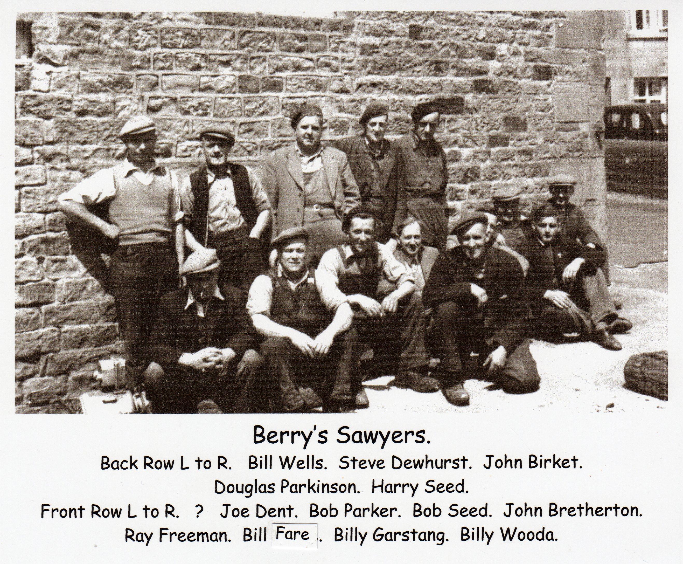 Berry's Sawyers, 1950s