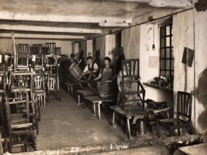 Old Mill, Hand Polishing, 1930s, Polishers