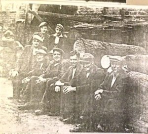 Kirk Mill, Group of Berry's Workmen, 1940s