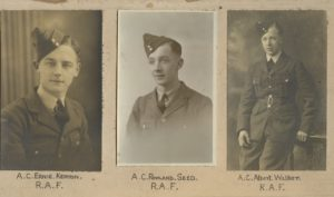 Our Stalwarts, Ernie Kenyon, Rowland Seed, Albert Walker