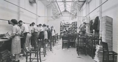 New Mill, Berry's Chairworks, Upholstering,