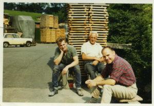 Alan Parkinson, Joe Tattersall & Bob Wharton at Berry's
