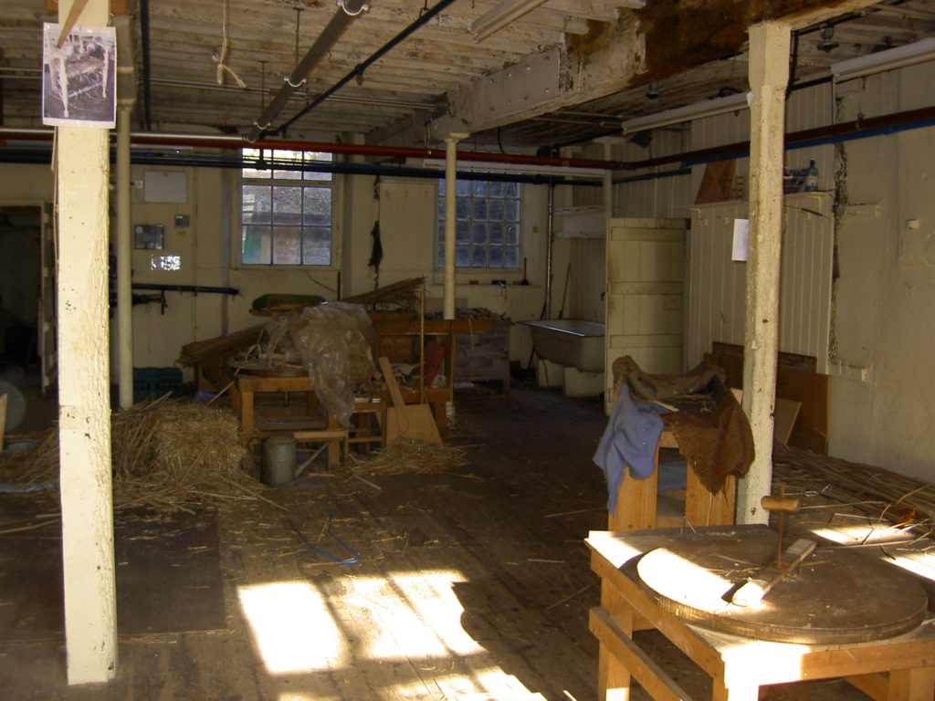 Old Mill, First Floor, Rush bottoming area, closure 2010