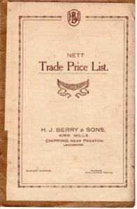 Berry's Brochure #1