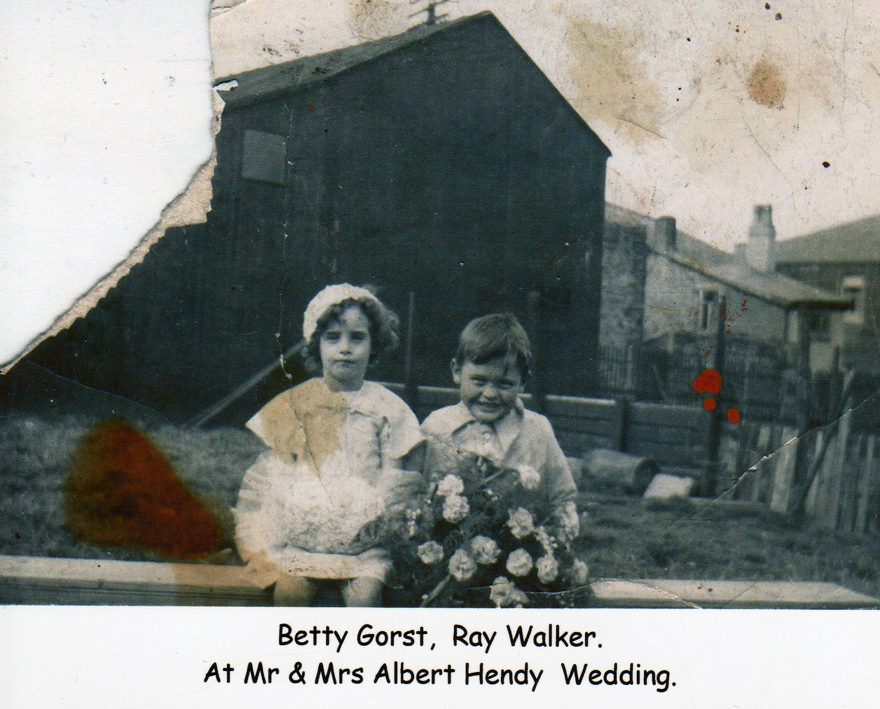 Betty Gorst & Ray Walker
