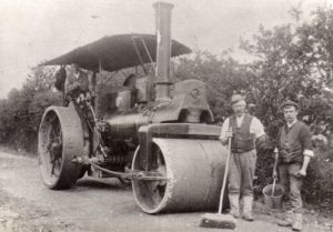 Chipping Steam Roller