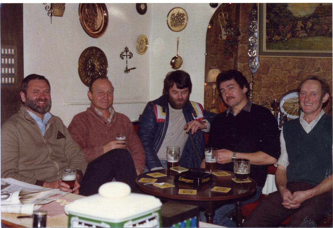 John Hoyle, Bill Holden, Bob Bamber, Dave Kay & George Bamber