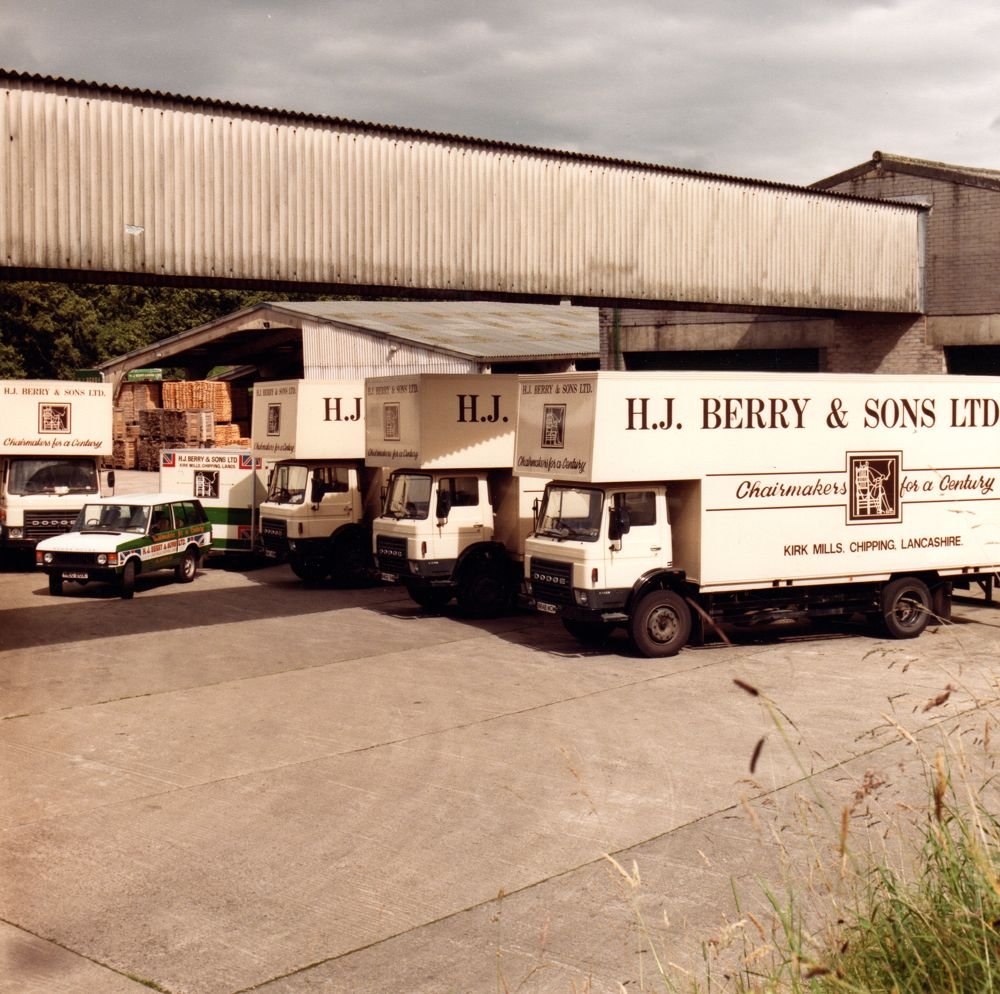 Berry's delivery trucks