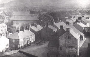 Sun Inn from the Church Tower