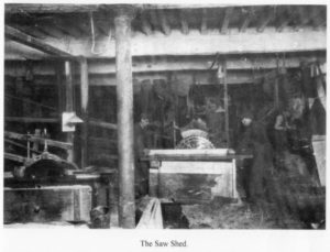 The Imperial Industrial Review April 1924 Kirk Mill interior sawing 1924