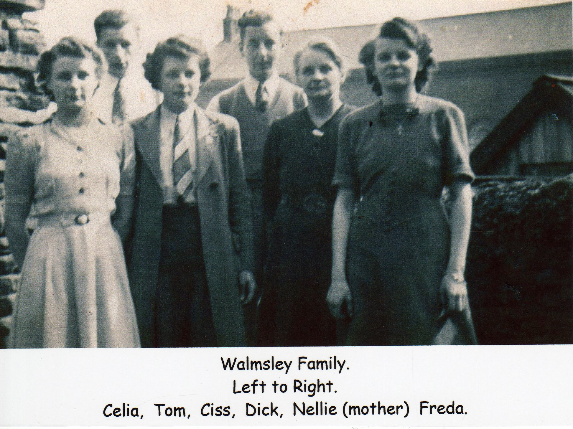 Walmsley Family