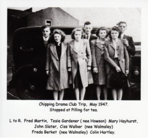 Chipping Drama Club Trip, May 1947