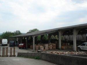 New Mill, shed exterior, closure 2010