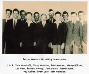 Berry's Workers on Holiday in Morcambe