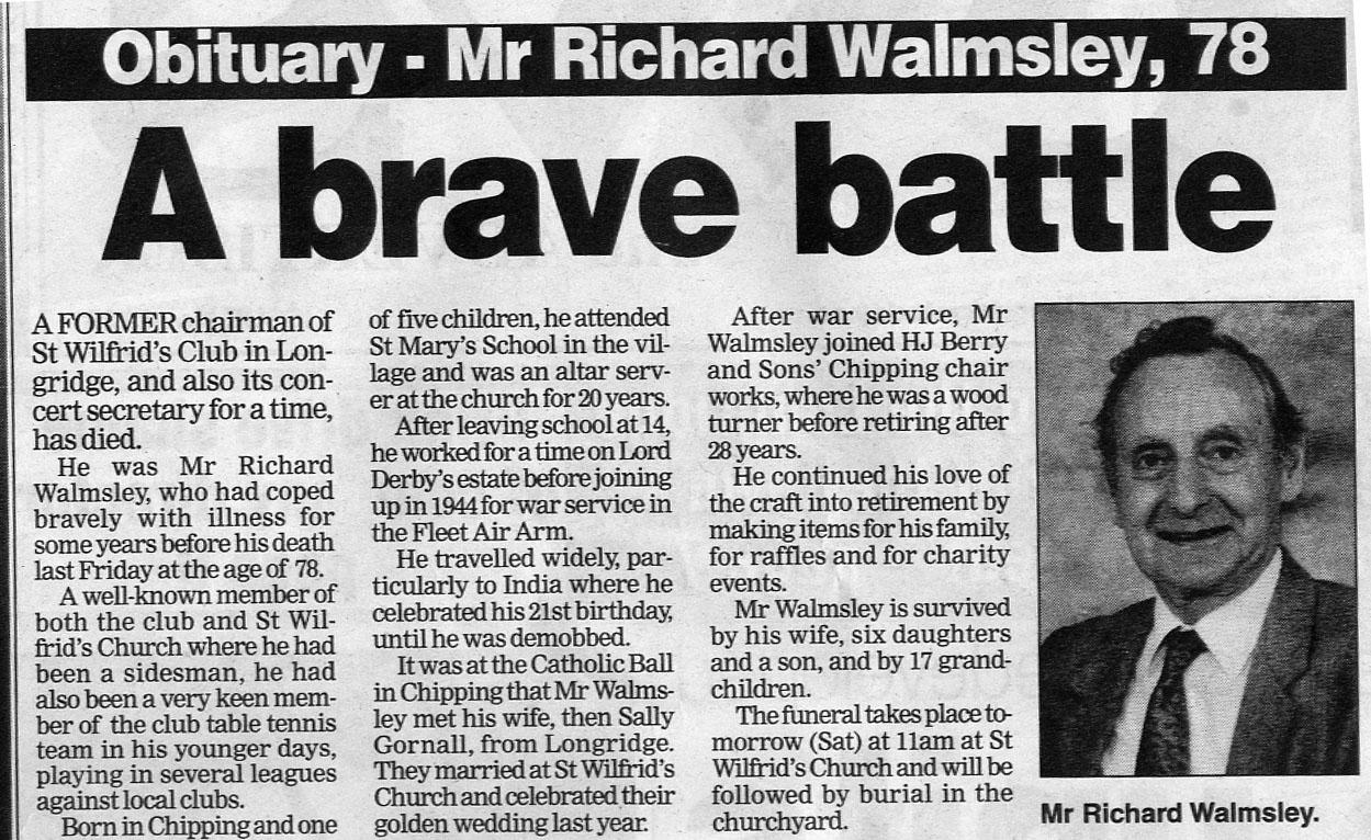 Dick Walmsley