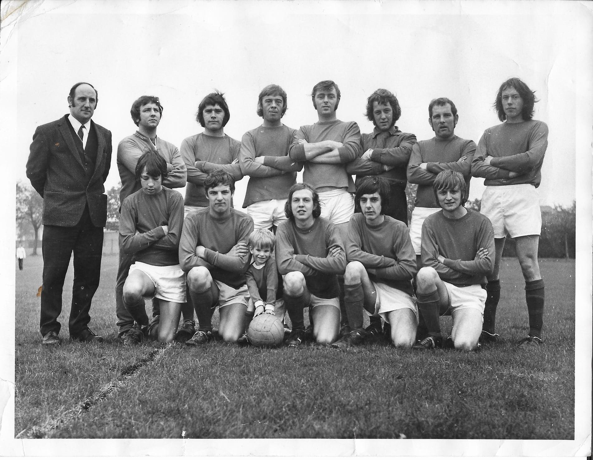 St Wilfrid's FC October 16th 1971