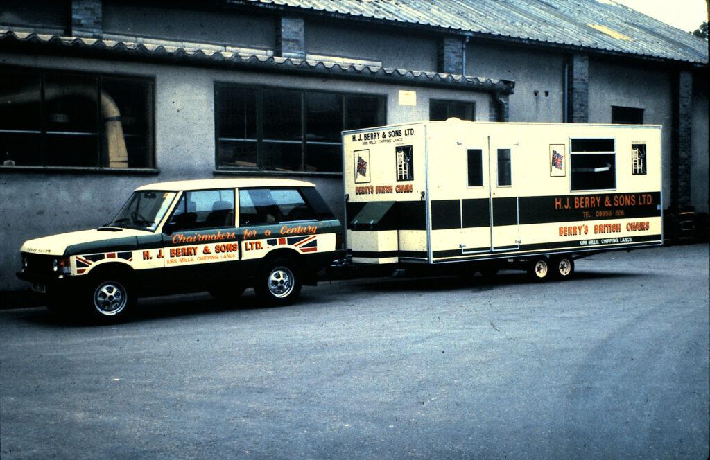 Range Rover & Show Van Aug 31st 1981