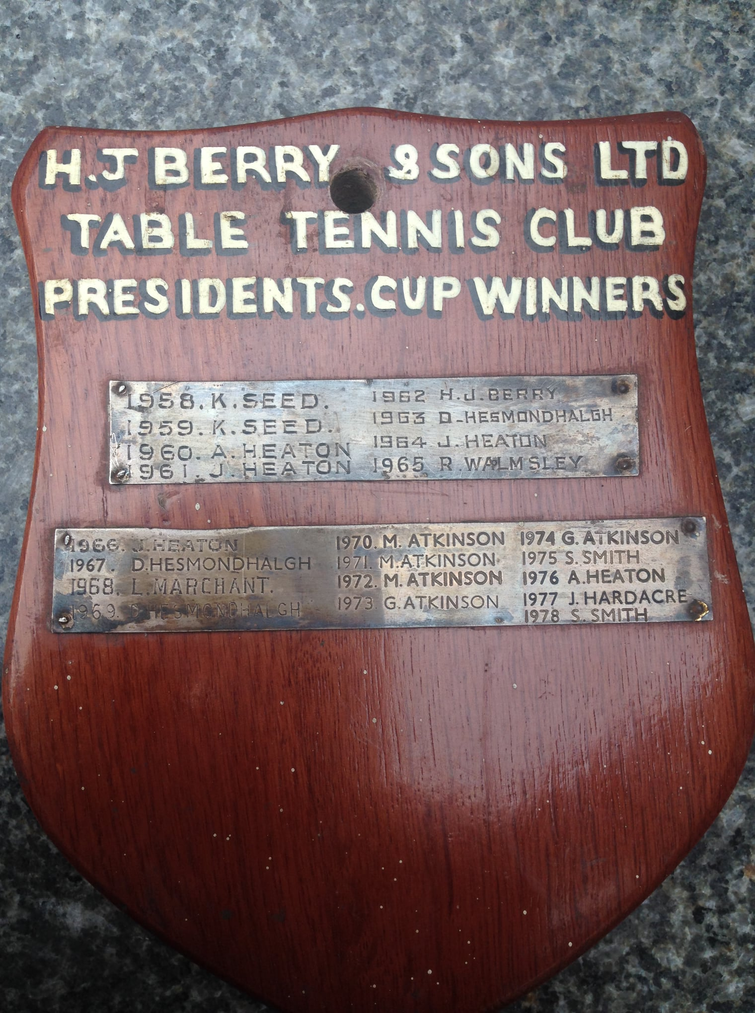 TT Trophy - Berry's